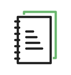 Lab notes vector