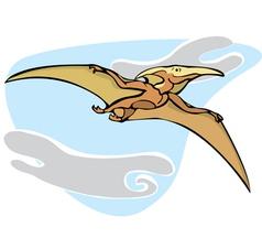 Pterosaur Dinosaur B vector image