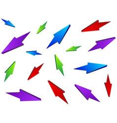 Seamless arrows chaos vector