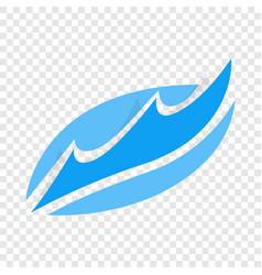 Wave isometric icon vector