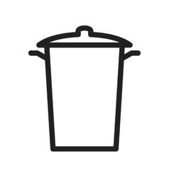Garbage bin vector
