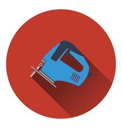 Icon of jigsaw icon vector