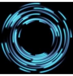 Blurred magic neon light EPS 10 vector image vector image