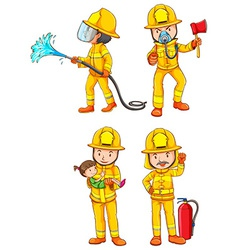 Simple sketches of the firemen vector