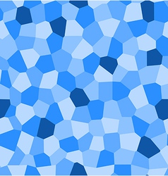 abstract blue seamless pattern vector image vector image