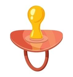 Baby nipple icon cartoon style vector image