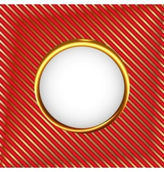 Royal circle frame vector
