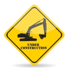 Under construction eps10 vector