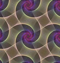 Seamless abstract fractal pattern background vector