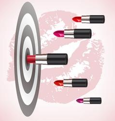 Lipstick target vector