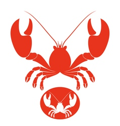 Lobster vector image vector image