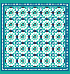 Traditional moroccan mosaic background vector