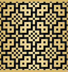 Arabic seamless pattern with 3d effect for the vector