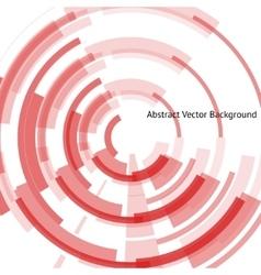 Red vinyl record vector