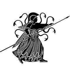 Medusa Gorgon vector image