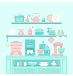 Home appliances and utensils vector