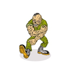 Skull Armyboy vector image