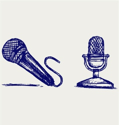 Sketch microphone vector