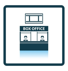 Box office icon vector image