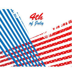 independence day background vector image vector image