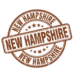 New hampshire stamp vector