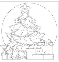ribbon holiday set bright colorful icon vector image vector image