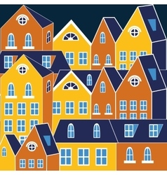 Cute of a city vector image