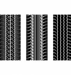 tyre tread vector image