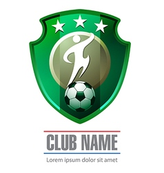 Club soccer icon or symbol vector