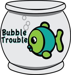 Bubble trouble vector