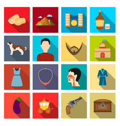 trade business hobby and other web icon in flat vector image vector image