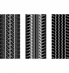 Tyre tread vector
