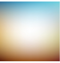 vacation warm defocused light background eps 10 vector image vector image