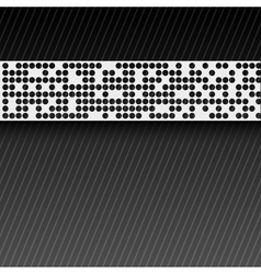 abstract perforated paper tape EPS10 vector image vector image