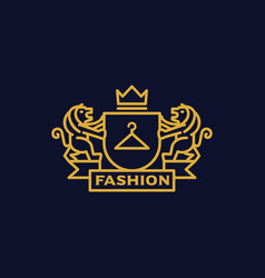 Coat of arms fashion vector