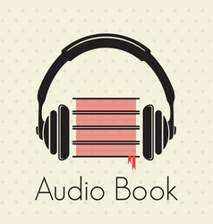 Audio book vector