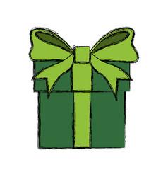gift box present vector image vector image