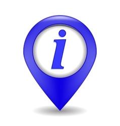 Information web icon vector