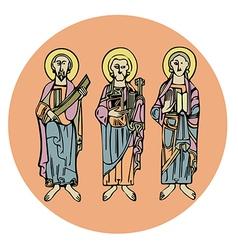Saint vector image
