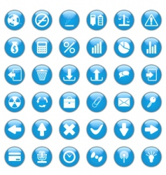 web design icons vector image vector image