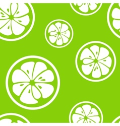 Abstract citrus fruit seamless pattern vector
