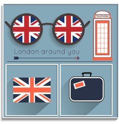 Want to see london vector