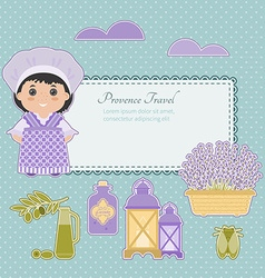 Set of provence vector
