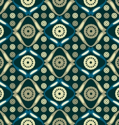 Background pattern of colored lace vector image