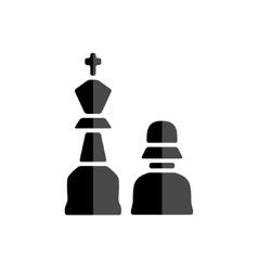 Chessman icon vector