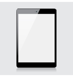 Black tablet vector