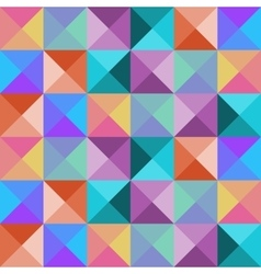 Bright seamless mosaic pattern vector