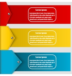 Set of abstract banners to create infographics vector