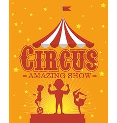 Circus carnival entertainment vector