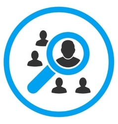 Find Client Rounded Icon vector image